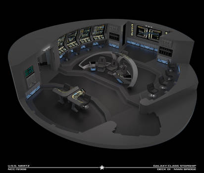 USS Nimitz Bridge Cutaway