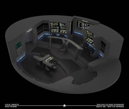 USS Nimitz Battle Bridge Cutaway