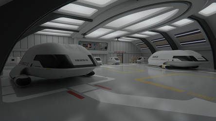 USS Potemkin Shuttlebay