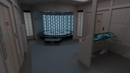 USS Tioga Transporter Room