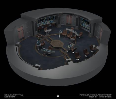 USS Emmett Till Bridge Cutaway