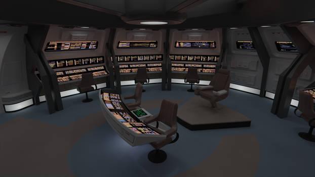 USS Hermes-A Bridge