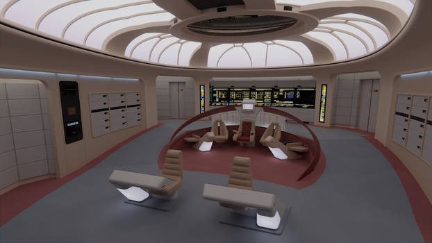 USS Enterprise-D Bridge - Parallels v1