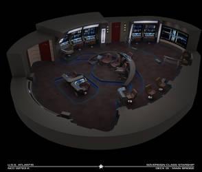 USS Atlantis-A Bridge Cutaway