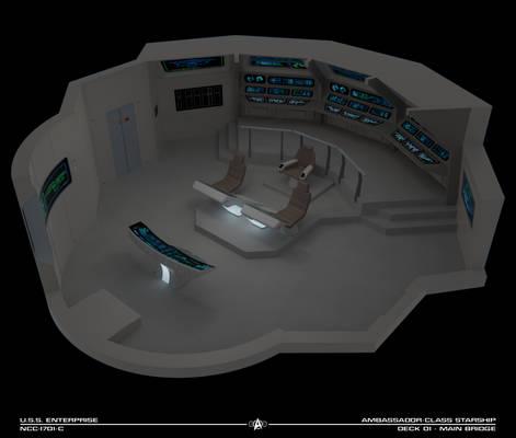 USS Enterprise-C Bridge Cutaway