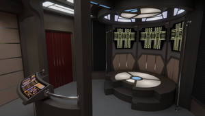 USS Yeager Transporter Room