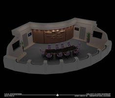 USS Enterprise-D Observation Lounge Cutaway
