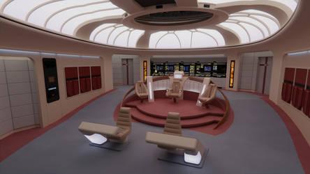 USS Enterprise-D Bridge - All Good Things Version by Rekkert