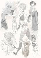 doodles by GarrettART