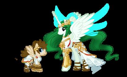 MLP: Kid Icarus by skyfinder