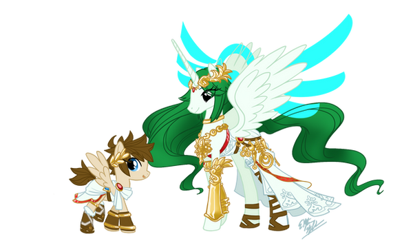 MLP Kid Icarus By Skyfinder