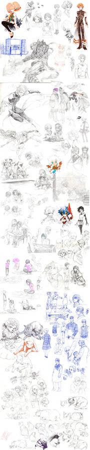 2012 fall sketch dump 2