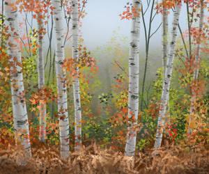 BirchForest by chaypeta