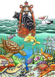Schipperkes At Sea by chaypeta