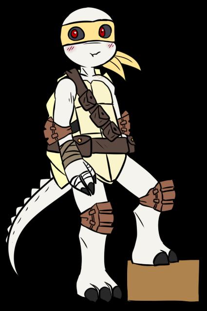 Teenage Mutant.. Hunter Turtle? by Shaebertooth