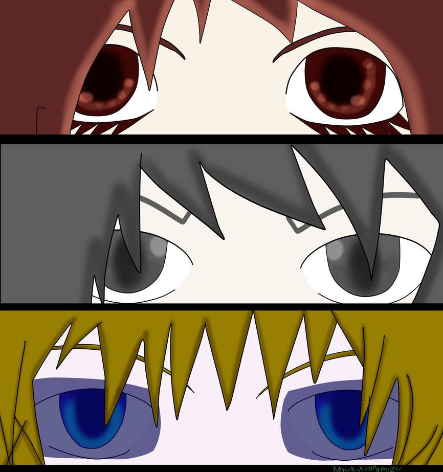 TCW eye practice 1 by KoyukixToramizu