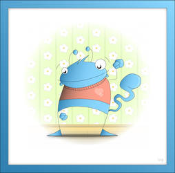 mr. blue...