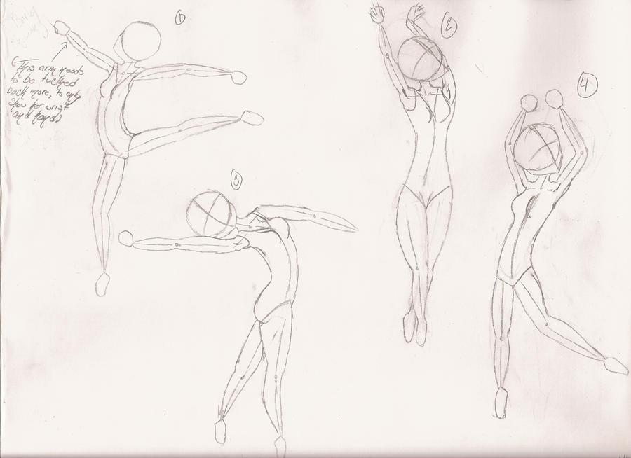 Ballerina Poses By 1-LittleblackBird On DeviantArt