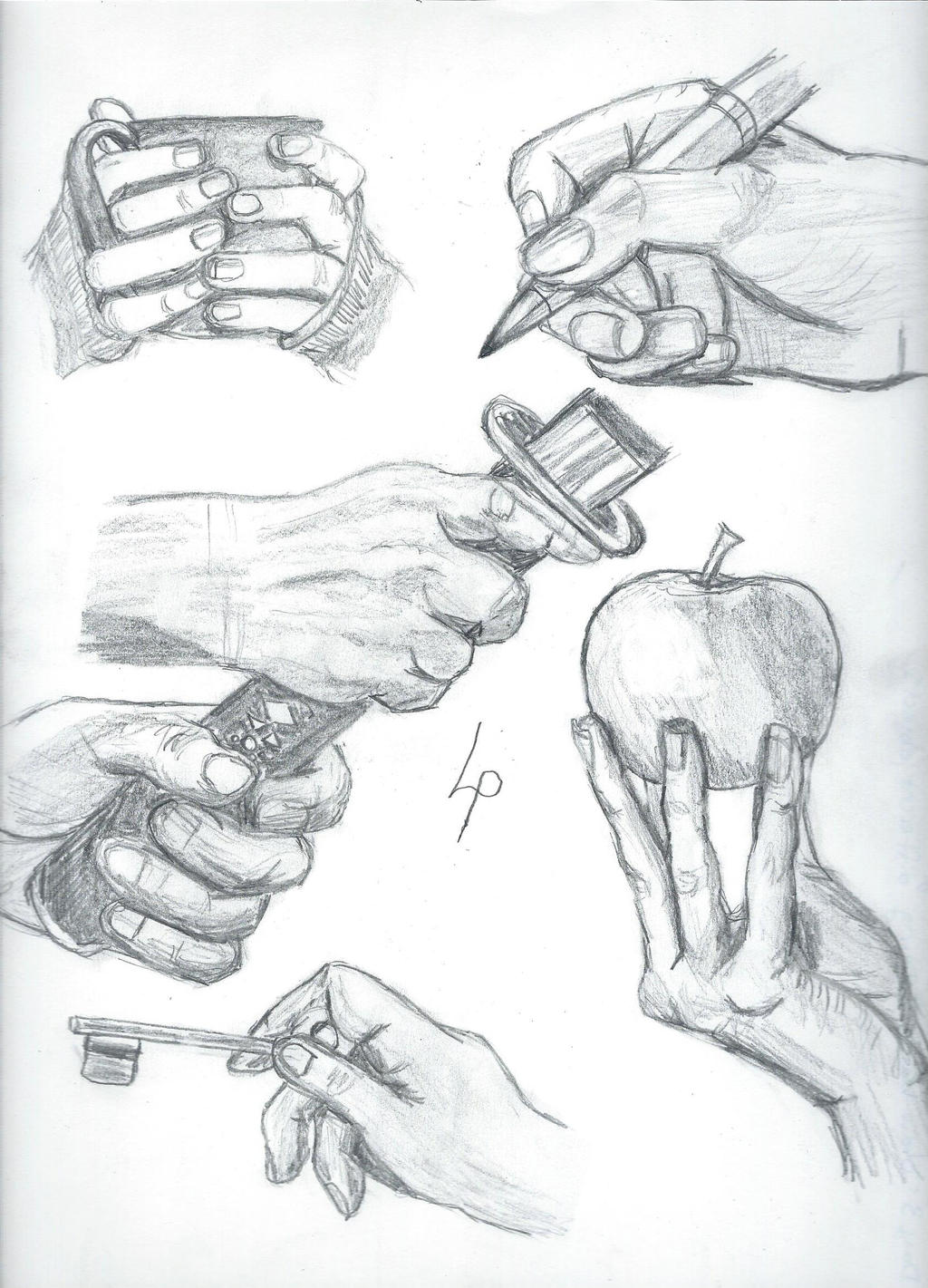 How To Draw A Hand Challenge