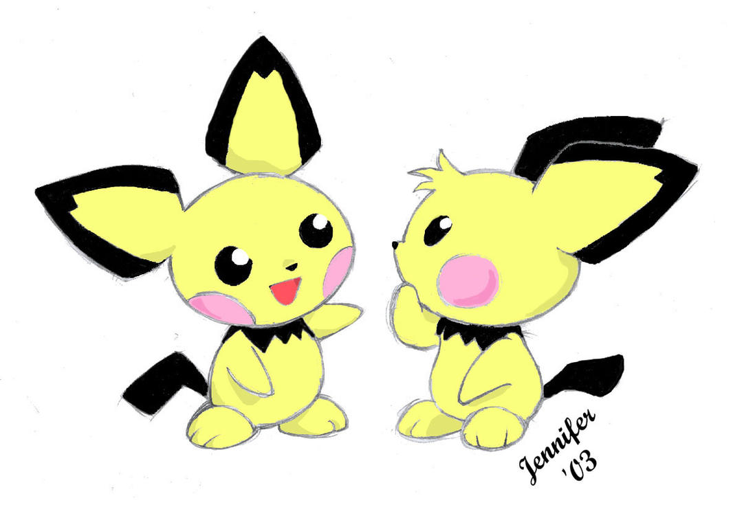 pichu brothers by chibi jen hen on deviantart