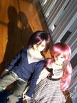 Pink and Purple Love by chibi-jen-hen