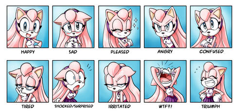 expressions wip by chibi-jen-hen