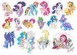so much PONIES
