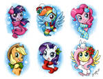 More Holiday Ponies