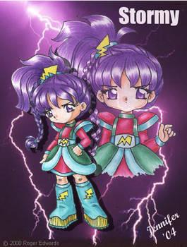 Anime Stormy from RainbowBrite
