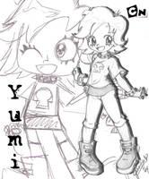 Puffy Yumi Anime by chibi-jen-hen
