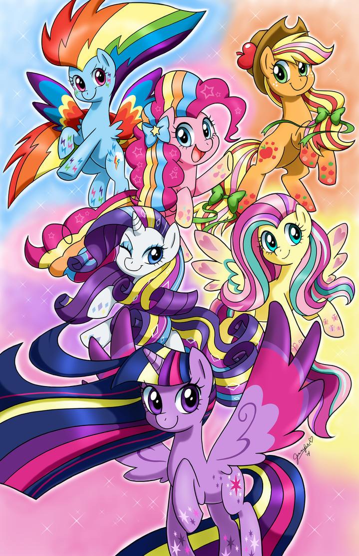 Rainbow Magic ::REPOST:: by chibi-jen-hen