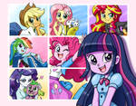 Equestria Girls poster