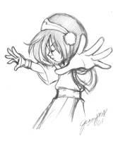Toph doodly-pop by chibi-jen-hen