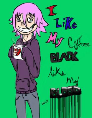 Crona's Coffee by DemyxsNo1Lover