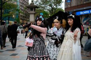 Harajuku Girls by Gurololi