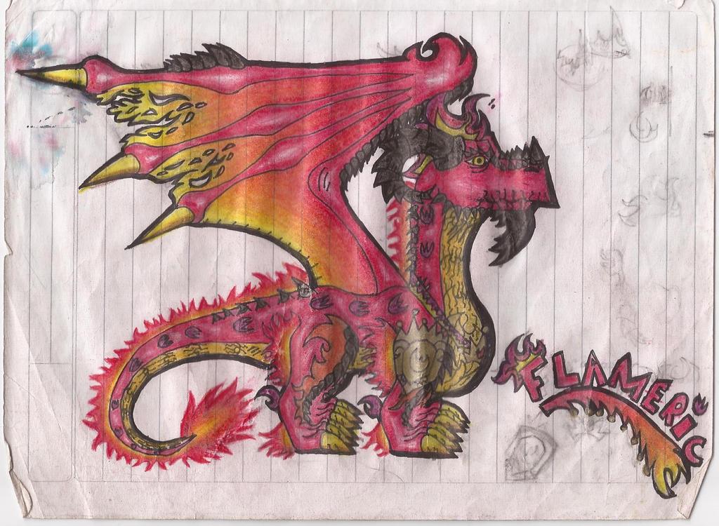 Mis dibujos! - Página 2 Flameric_by_sparoudorado-d6u1deb