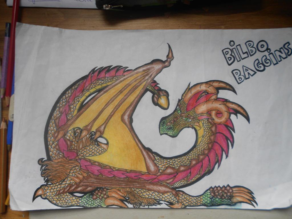 Mis dibujos! - Página 2 Dragon_bilbo_baggins_by_sparoudorado-d92waue