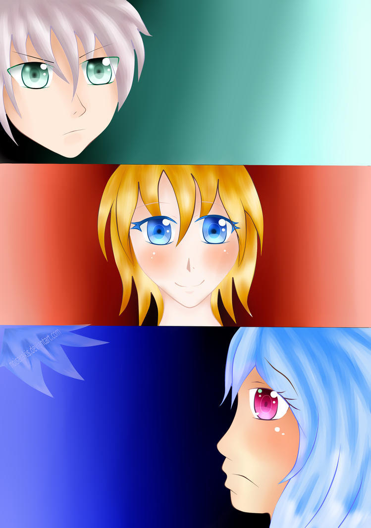 3 Faces or Heads? O.o by NoisArakis
