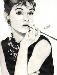 Audrey Hepburn by abdka5