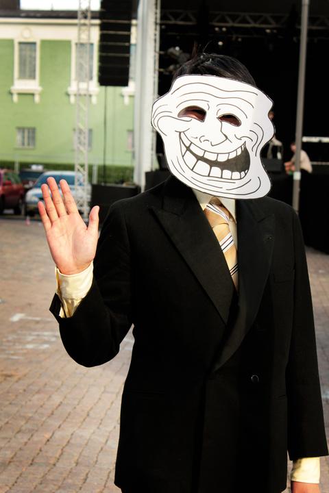 Trollface by crimson-ixvix
