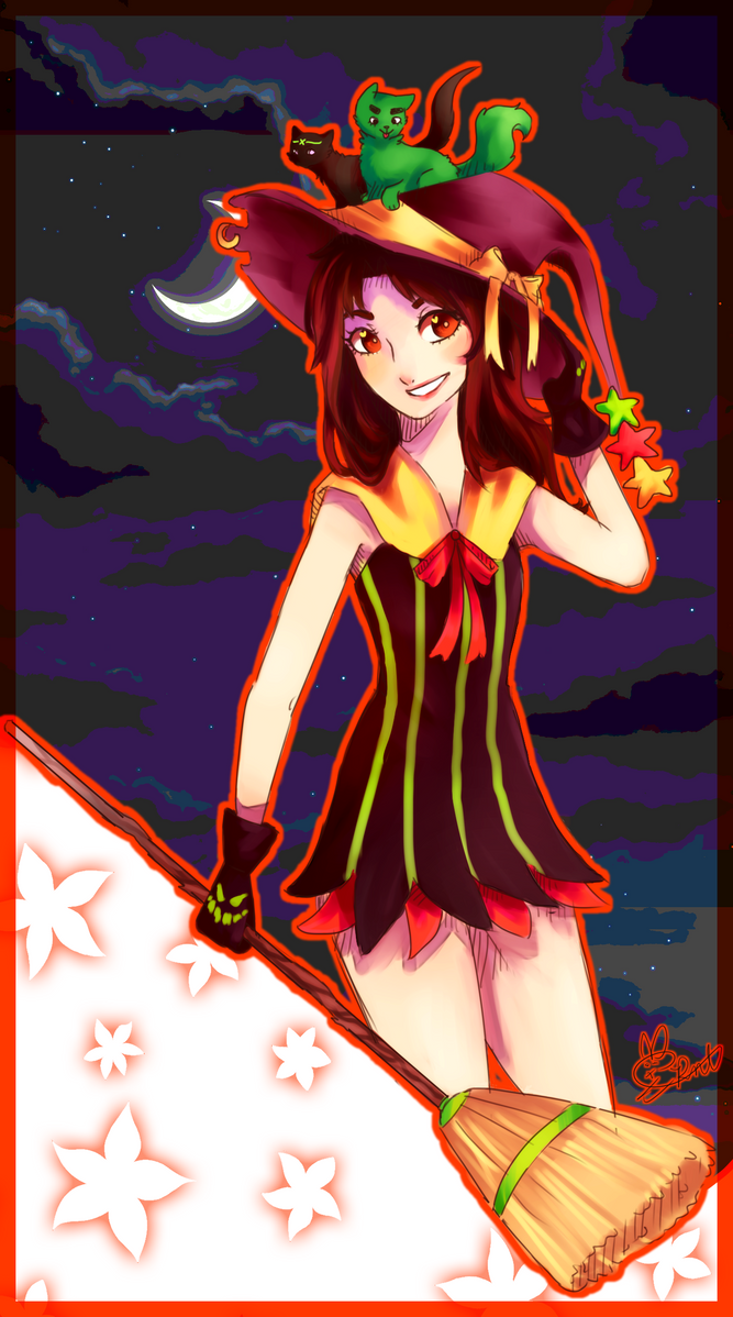 Witch Tenten for BayBay by isupportomnom