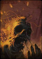 Burning by zaidoigres