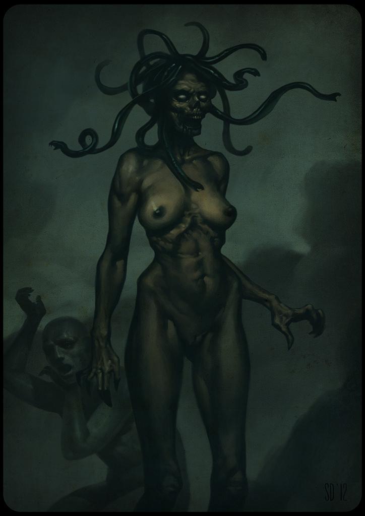 Medusa by zaidoigres