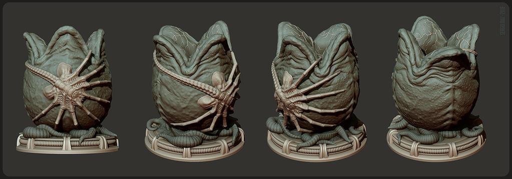 Alien Egg by zaidoigres