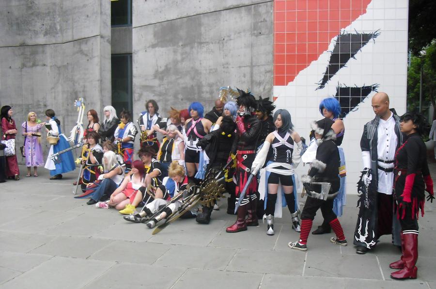 Kingdom Hearts by ShadowYazoo