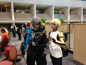 Raiden and Genos