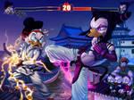DuckTales + Street Fighter by uialwen