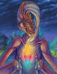 Sacred heart by uialwen