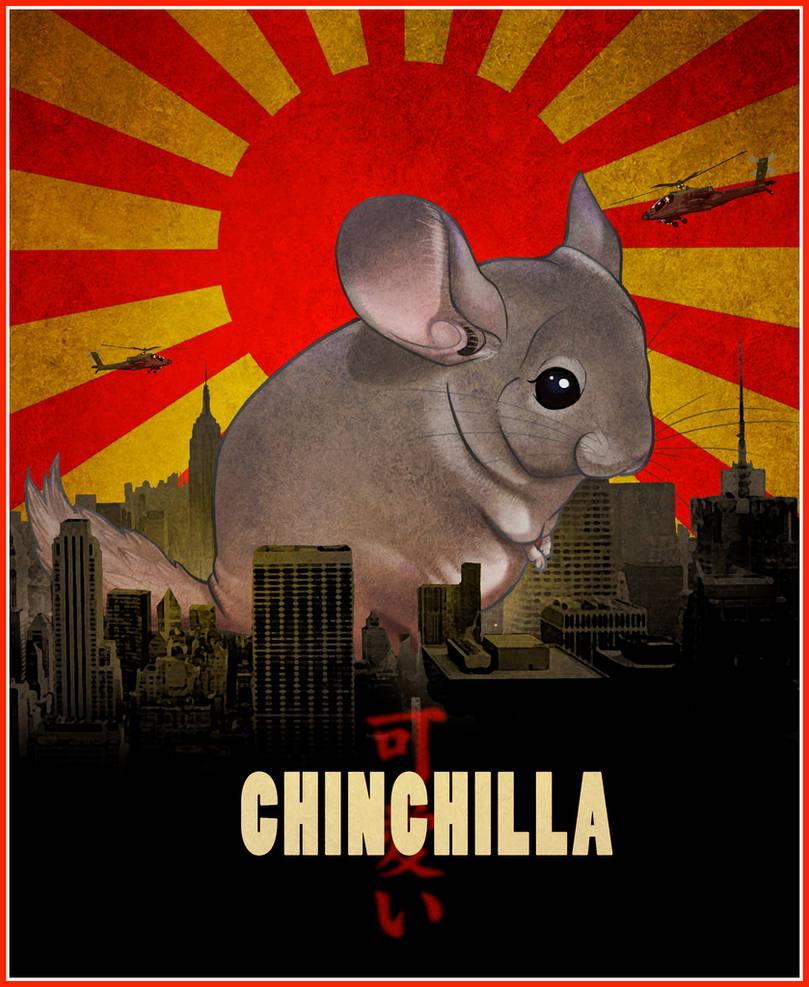 Chinchilla Kaiju by uialwen