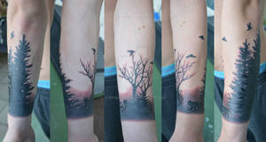 Final tattooed piece
